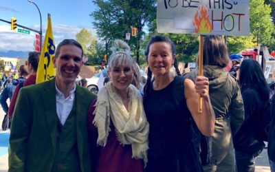 VGH Scientists March in Support of Climate Action
